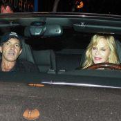 Antonio Banderas et Mélanie Griffith : Super amoureux et sympas avec leurs fans