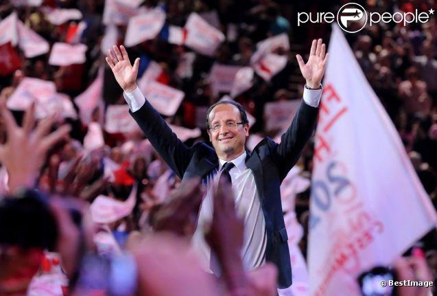 François Hollande est devenu le 7eme président de la République française ce 6 mai 2012.