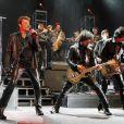 Exclusif : Johnny Hallyday en concert à l'Orpheum Theatre à Los Angeles le 24 avril 2012