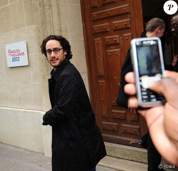 Thomas Hollande à Paris, le 7 mai 2012.