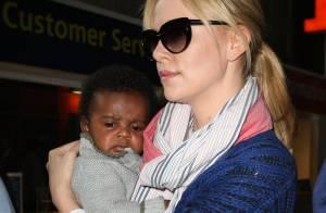Charlize Theron : Première sortie publique avec son fils Jackson, trop mignon !