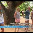 Les filles dansent le hula dans Les Anges de la télé-réalité 4 le mercredi 9 mai 2012 sur NRJ 12
