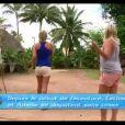 Concours de fléchettes pour les filles dans Les Anges de la télé-réalité 4 le mercredi 9 mai 2012 sur NRJ 12