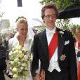 Mariage du prince Manuel de Bavière et de la princesse Anna de Sayn-Wittgenstein-Berleburg le 6 août 2005 en Suède.