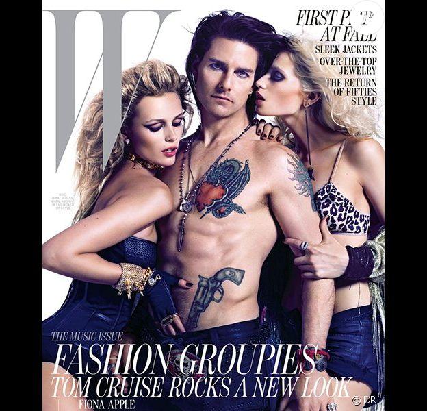 Tom Cruise en couverture de W, édition du mois de juin 2012