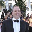 Harvey Weinstein sur le tapis rouge de l'ouverture du festival de Cannes 2012 le 16 mai