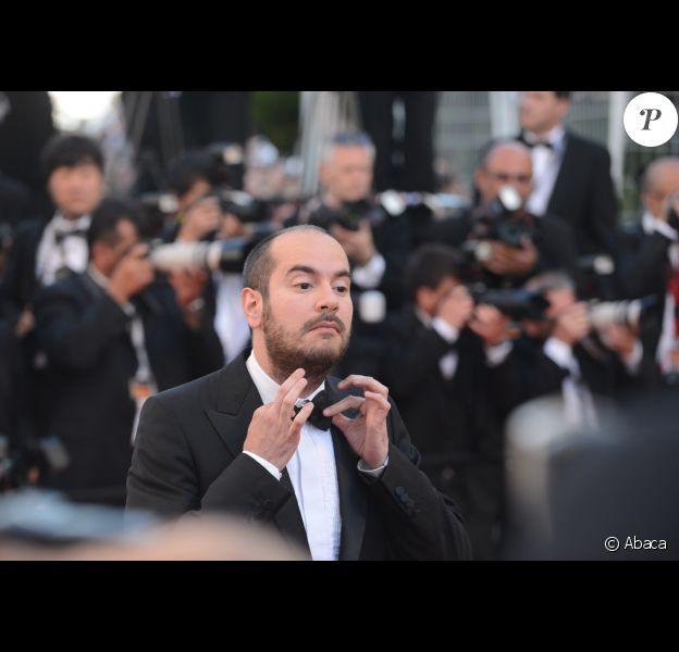 Kyan Khojandi, auteur et acteur de Bref., au festival de Cannes 2012