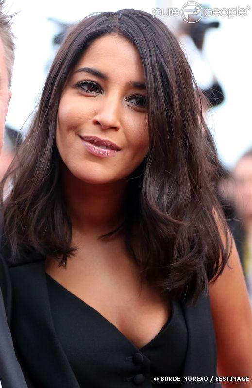 Leïla Bekhti au Festival de Cannes le 17 mai 2012.