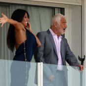 Jean-Paul Belmondo, pimpant, et Barbara Gandolfi, heureuse d'être au Festival