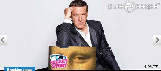 Benjamin Castaldi présente Secret Story 6