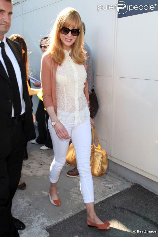 Nicole Kidman arrive à l'aéroport de Nice, le 22 mai 2012. Direction le Festival de Cannes pour présenter  Paperboy.