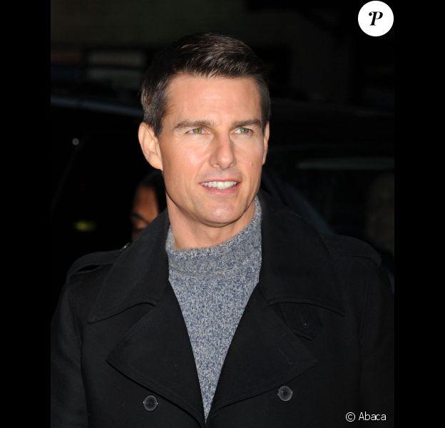Tom Cruise en décembre 2011 à New York.