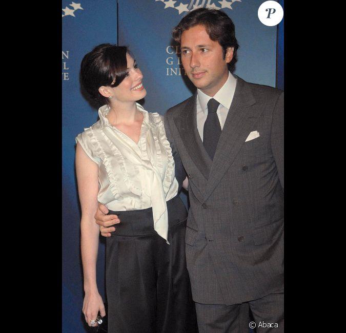 Anne Hathaway Et Raffaello Follieri, à New York City, En
