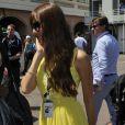 Jessica Michibita lors des essais du Grand Prix de Formule 1 à Monaco le 26 mai 2012