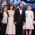 Francis Perrin, Catherine Arditi, Audrey Tautou, Gilles Lellouche, Anaïs Demoustier et Stanley Weber lors de la montée des marches de Thérèse Desqueyroux, au Festival de Cannes le 27 mai 2012.