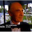 Guy Marchand s'exprime sur Claude Miller, dont le dernier film Thérèse Desqueyroux est présenté en clôture du Festival de Cannes le 27 mai 2012 - images Canal+
