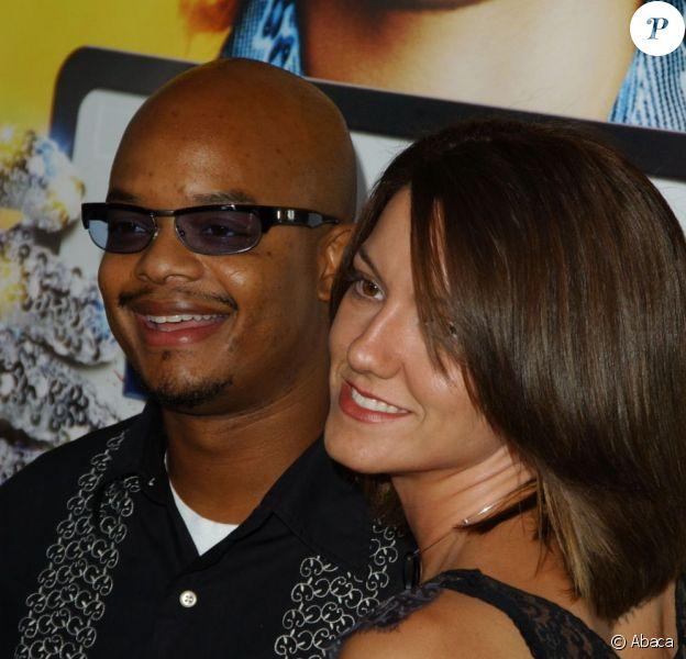 Todd Bridges et sa femme Dori en 2003 à Hollywood. En mai 2012, le couple annonce sa séparation.