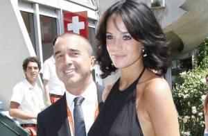 Roland-Garros : Jade Foret, enceinte, et Arnaud Lagardère, complices et amoureux