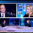 """""""Laurence Ferrari pendant le débat entre François Hollande et Nicolas Sarkozy le 2 mai 2012"""""""