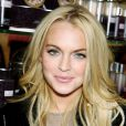 Lindsay Lohan à New York en octobre 2009.