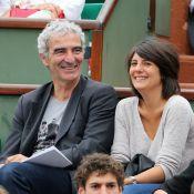 Roland-Garros : Estelle Denis et Raymond Domenech, amoureux et complices