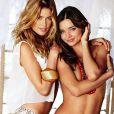 Doutzen Kroes et Miranda Kerr, un duo ultra sexy pour Victoria's Secret.