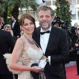 Stéphane Guillon et sa femme Muriel Cousin en mai 2012 à Cannes