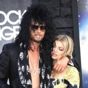 Josh Duhamel méconnaissable et rock n' roll au côté de sa sexy Fergie