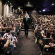 EXCLU. Donald Sutherland lors de l'hommage qui lui a été rendu à l'occasion du Champs-Elysées Film Festival à Paris au Publicis le samedi 9 juin 2012