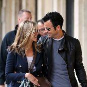 Jennifer Aniston et Justin Theroux : Un couple stylé dans la Ville de l'amour