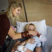 La princesse Maxima rayonnante à la maternité de Bronovo, qu'elle connaît bien