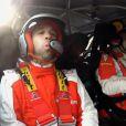 Mathieu Valbuena devient le temps d'une initiation le copilote de Philippe Bugalski dans la Citroën DS3 WRC