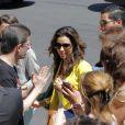 Eva Longoria, à Monte-Carlo, le mardi 12 juin 2012.
