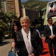 Alison Arngrim, à Monte-Carlo, le mardi 12 juin 2012.