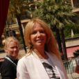 Rosanna Arquette, à Monte-Carlo, le mardi 12 juin 2012.