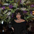 Joan Collins au dîner du Club des Ambassadeurs, organisé à l'Hôtel de Paris à Monaco, le 12 juin 2012.