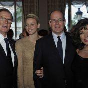 Le prince Albert et Charlene : Soirée de gala pour un très célèbre James Bond
