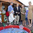 Le prince Albert et la princesse Charlene de Monaco au salon Monacology, le 12 juin 2012