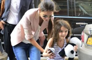 Suri Cruise : Pourrie gâtée, la petite gourmande retrouve sa maman