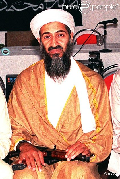 Oussama Ben Laden en Afghanistan (photo d'archives)
