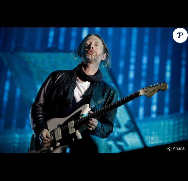 Radiohead en concert à Mexico, le 18 avril 2011
