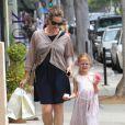 Jennifer Garner et l'adorable Violet à Santa Monica, le 16 juin 2012