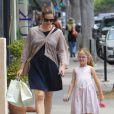 Jennifer Garner et sa fille Violet à Santa Monica, le 16 juin 2012