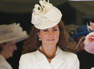 Kate Middleton, glamour en crème, admire son chevalier William qui défile