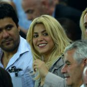 Euro 2012 : Shakira et Sara Carbonero supportrices amoureuses de leurs Espagnols
