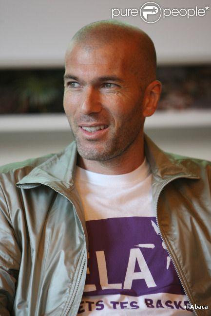 Zinedine Zidane le 7 juin 2012 à Paris