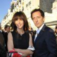 Gad Elmaleh et Sophie Marceau lors du festival de Cabourg en juin 2012