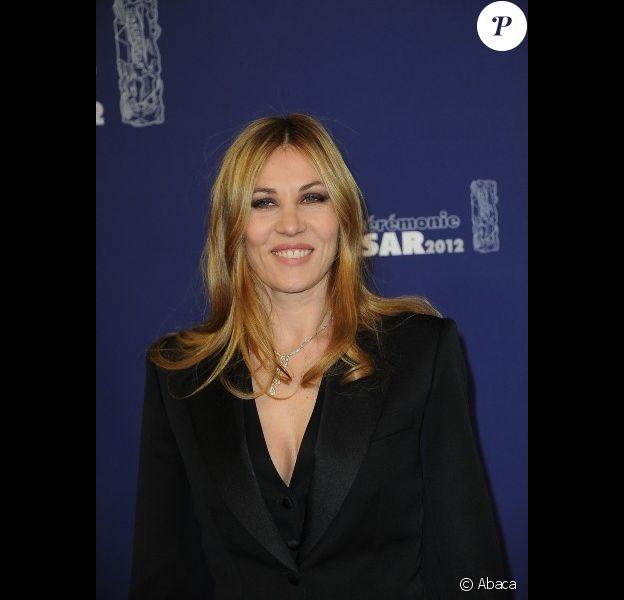 Mathilde Seigner durant les César 2012