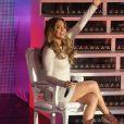 Jennifer Lopez de passage sur le plateau de l'émission Dreaming To Sing. Buenos Aires, le 20 juin 2012.