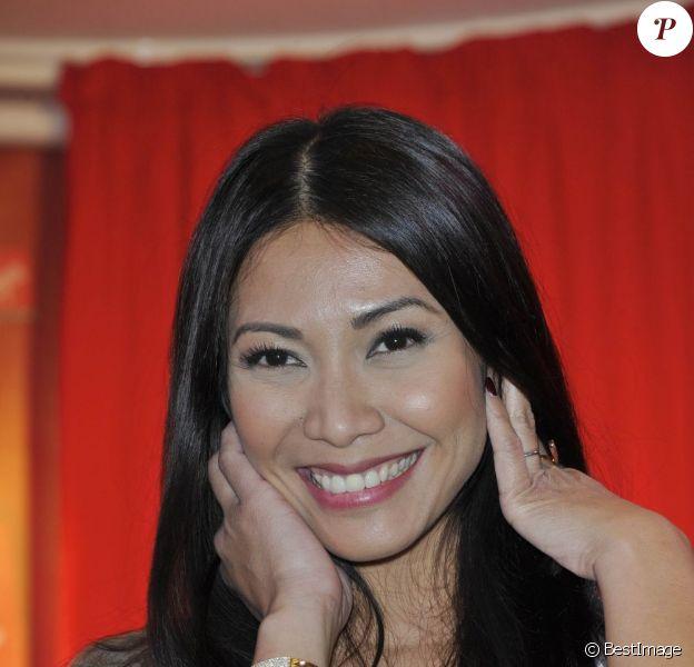Anggun le 26 avril 2012 à Paris
